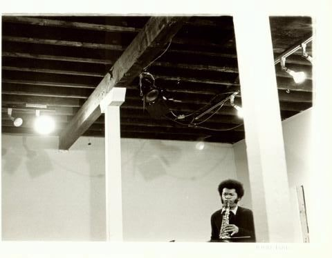 """Anthony Braxton at A Space, Toronto 1973"""