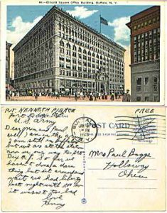 Buffalo post card circa 1920's