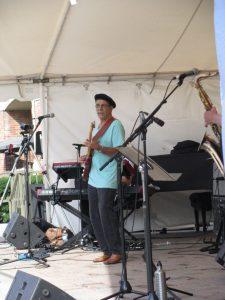 Kenny Marco at the Brantford International Jazz Festival, 2016 by johnmars.com