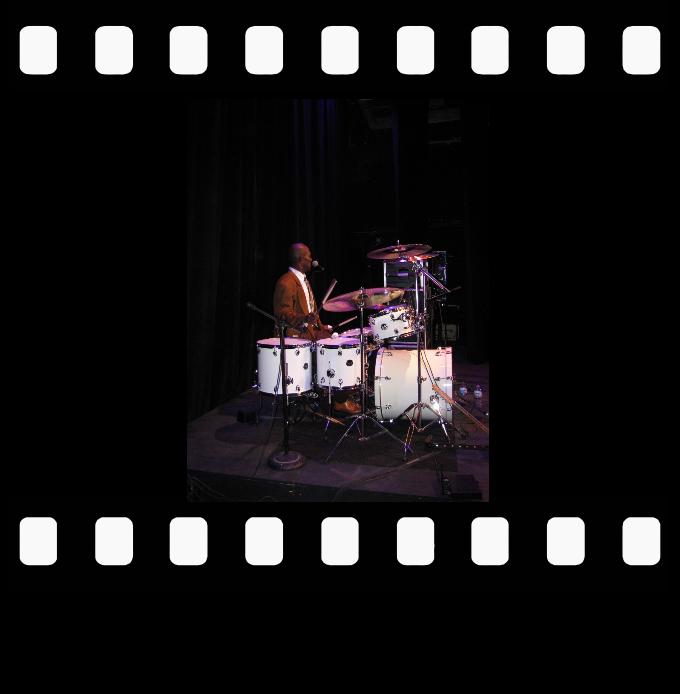 Toronto Blue Jays drummer Rick Donaldson