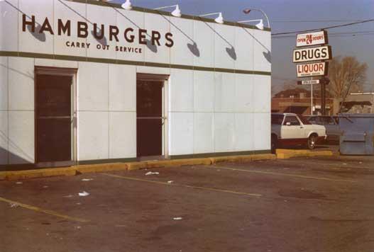 """Hamburgers, Drugs and Liquor - Detroit"""