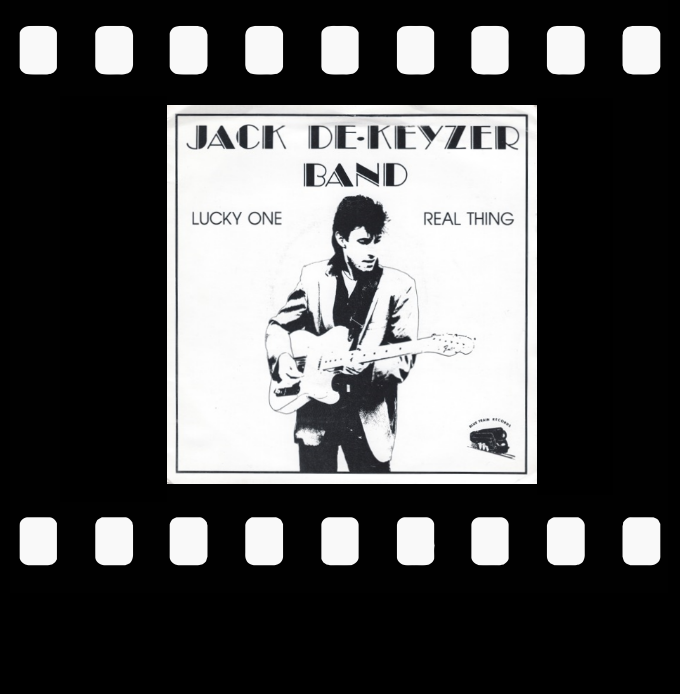 Jack deKeyzer Band : 45rpm picture sleeve
