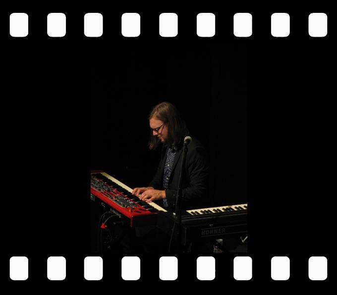 Jack deKezyer Band keyboard man Joel Visentin