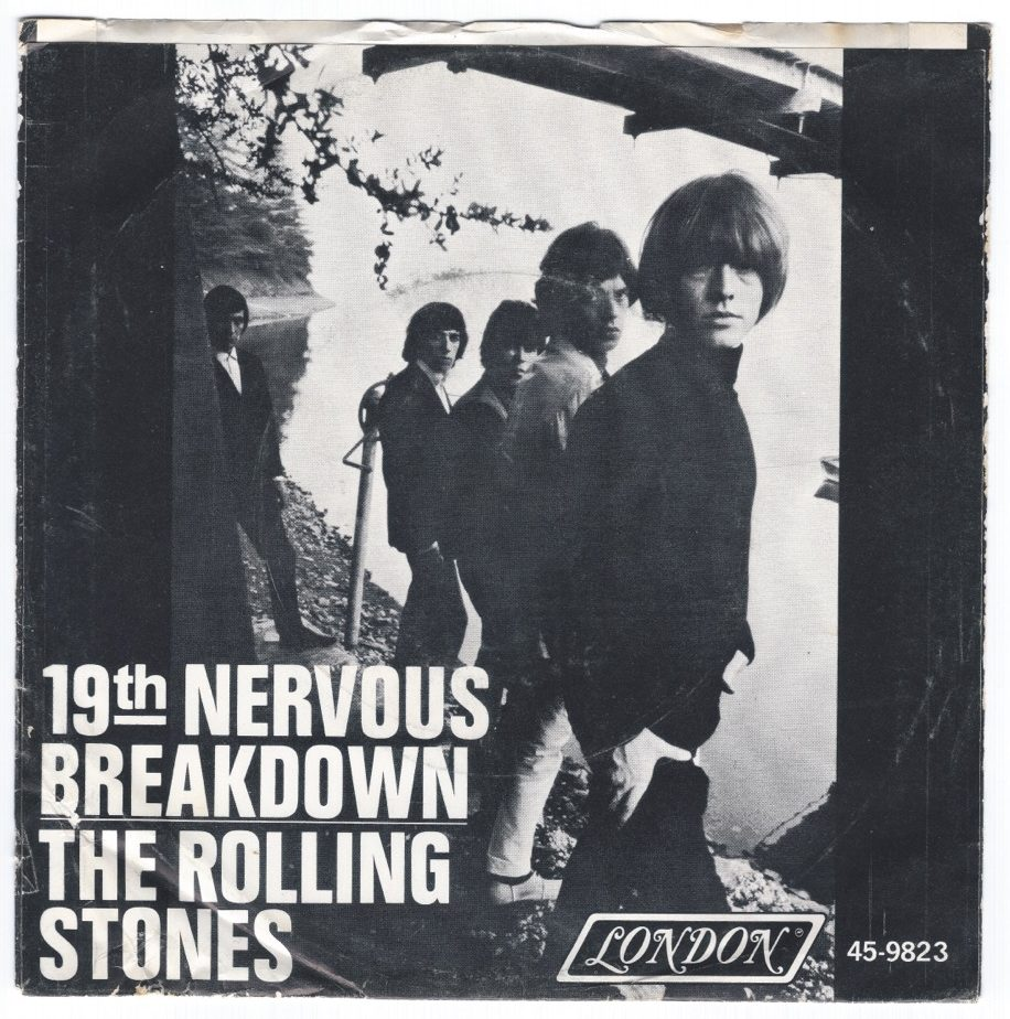 """THE ROLLING STONES """"19th Nervous Breakdown"""" 45rpm"""