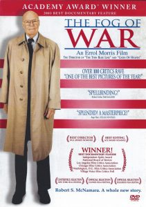 "ROBERT McNAMARA ""The Fog Of War"" DVD documentary film"