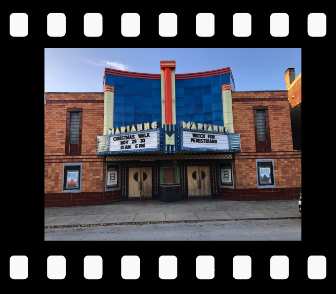 Marianne Theatre in Bellevue, Kentucky<br>Photo Credit : Dan Axler
